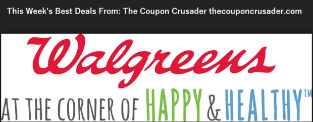 Walgreens the coupon crusader